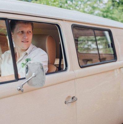 Ретро автомобиль на свадьбу - Retro Volk