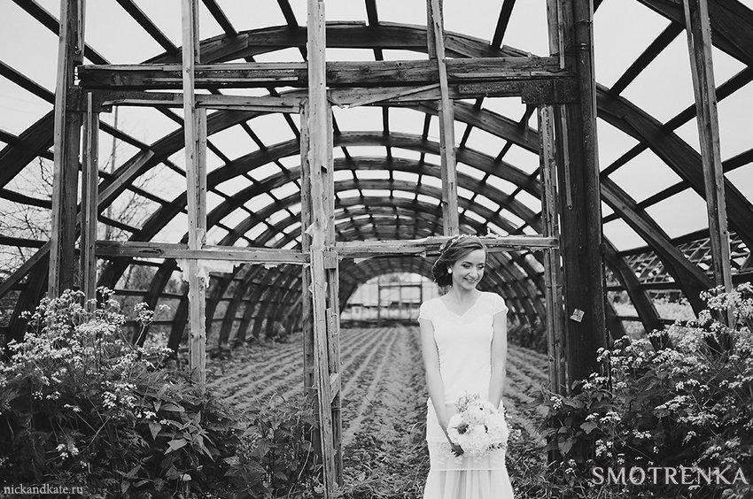 Романтическая фотосъемка Nick Kate