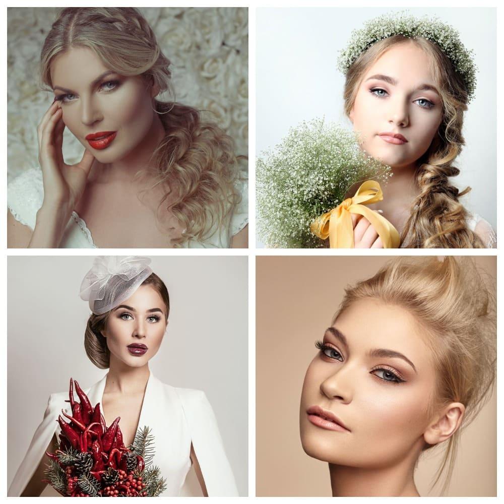 Красивый макияж невесты